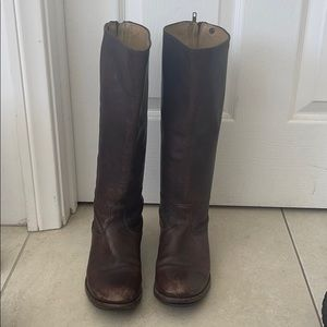 Frye Vintage Riding Boots - 7